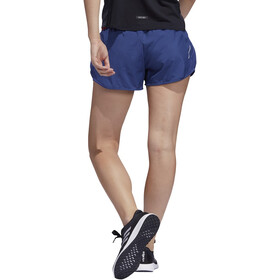"adidas Run It Shorts 3"" Dames, tech indigo/glory red"